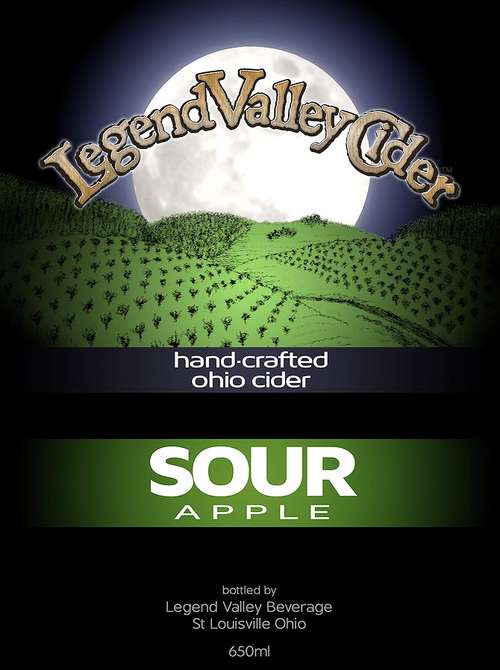 Legend Valley Beverage, Llc Sour Apple