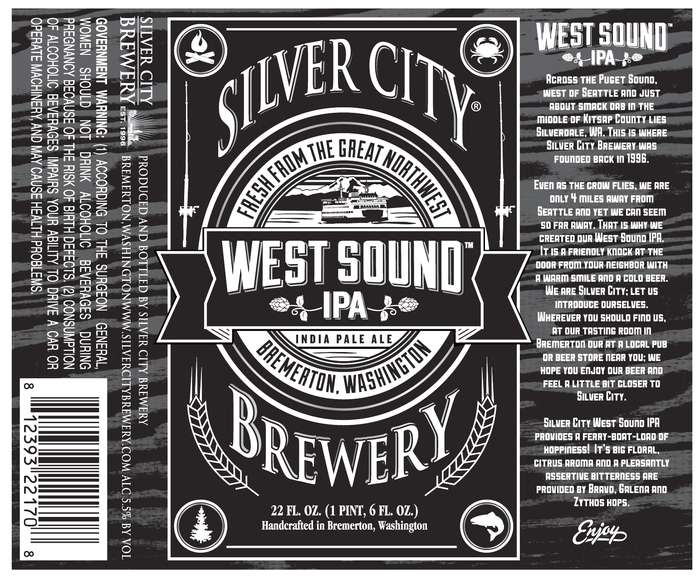 Silver City Brewery West Sound Ipa