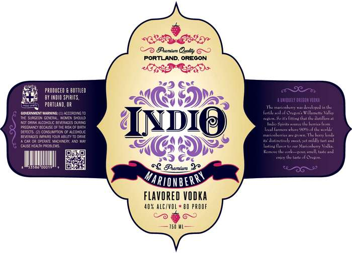 Indio Oregon Marionberry