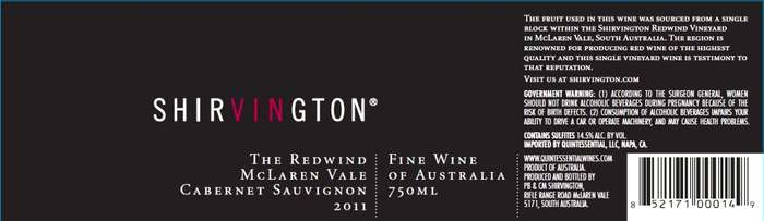 Shirvington Redwind