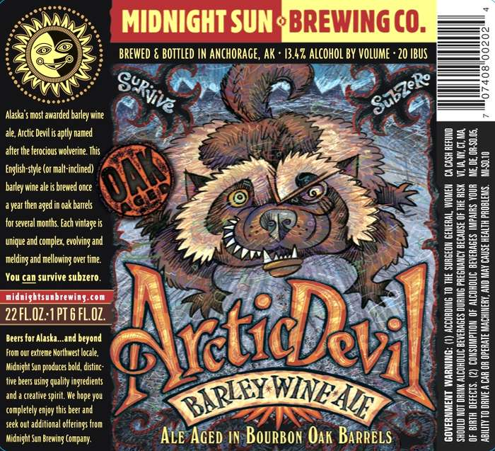 Midnight Sun Brewing Company Arctic Devil