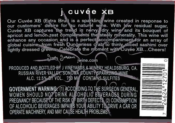 J Vineyards & Winery Cuvee Xb