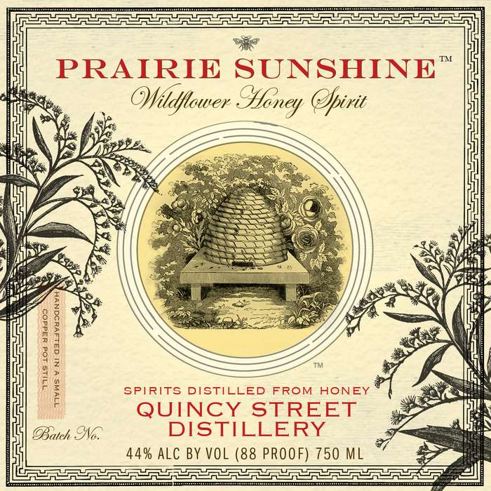 Prairie Sunshine Wildflower Honey Spirit