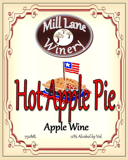 Mill Lane Winery Hot Apple Pie