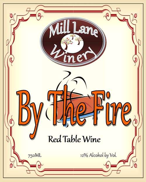 Mill Lane Winery By The Fire