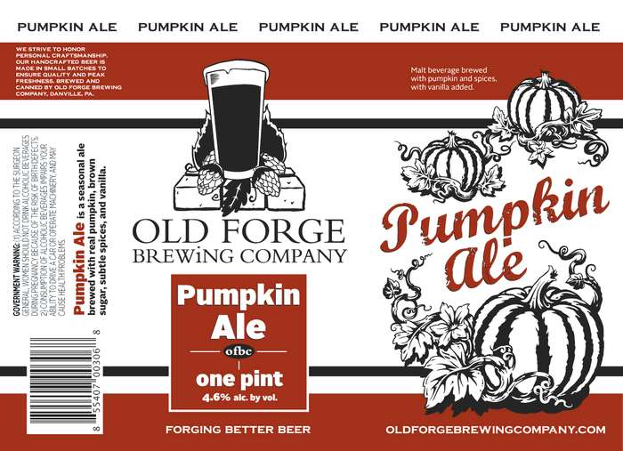 Old Forge Brewing Company Pumpkin Ale