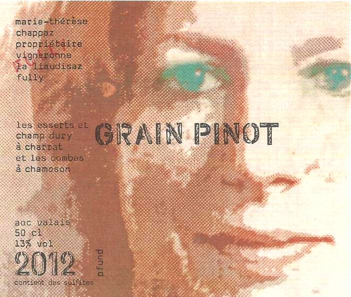 Marie-Therese Chappaz Grain Pinot