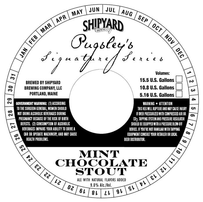Shipyard Mint Chocolate Stout
