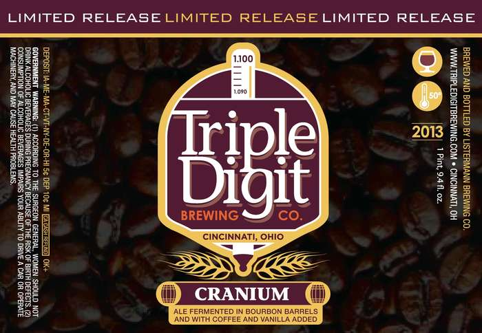 Triple Digit Brewing Co Cranium