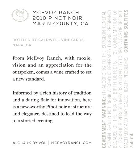 Mcevoy Ranch The Evening Standard