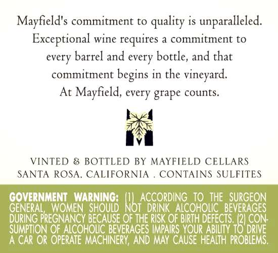 Mayfield Cellars