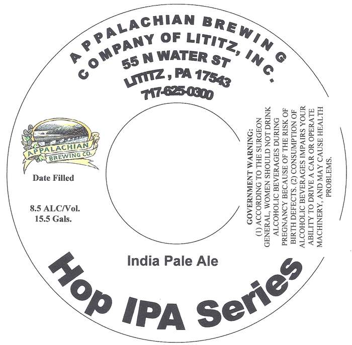 Appalachian Brewing Co Hop Ipa Series