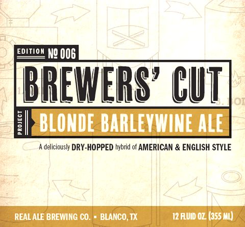 Brewers' Cut Blonde Barleywine