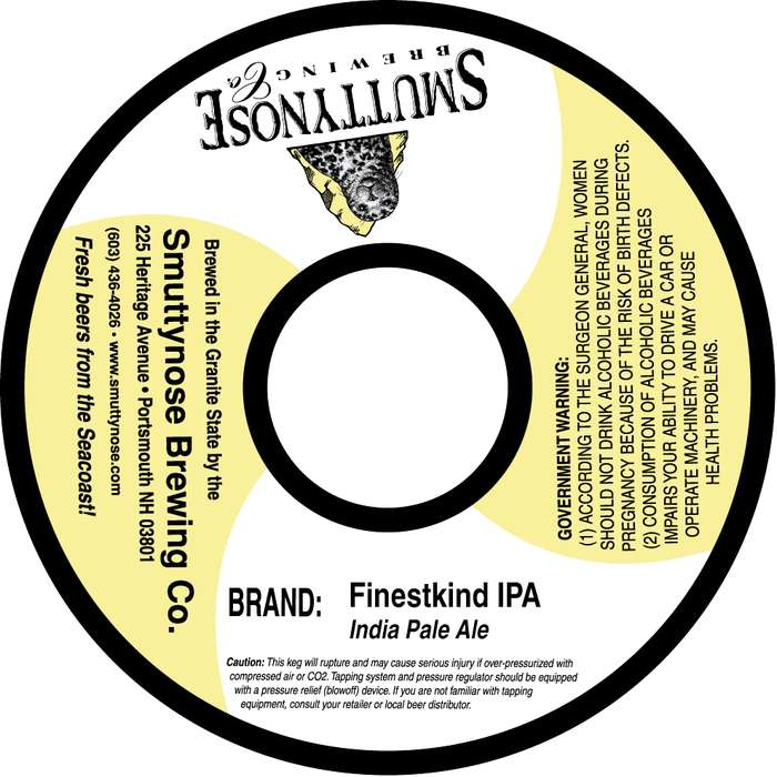 Smuttynose Brewing Co Finestkind Ipa