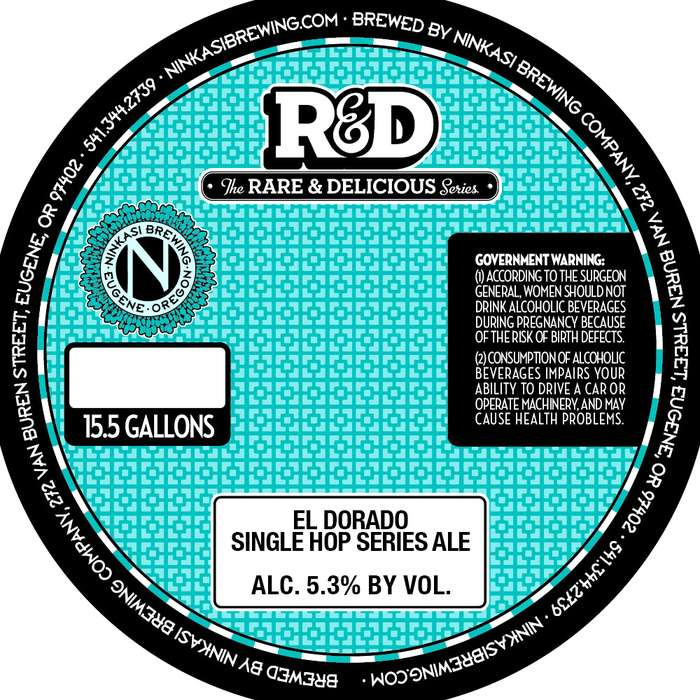 Ninkasi Brewing Company El Dorado Single Hop Series Ale