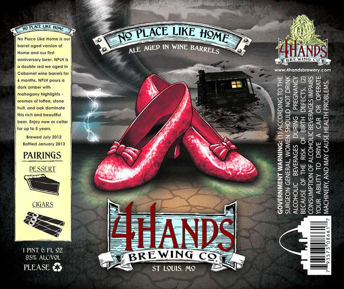 4 Hands Brewing Company No Place Like Home