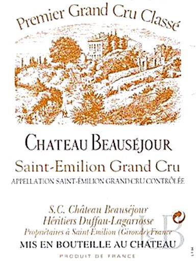 An Eliot Thomas Selection Chateau Beausejour