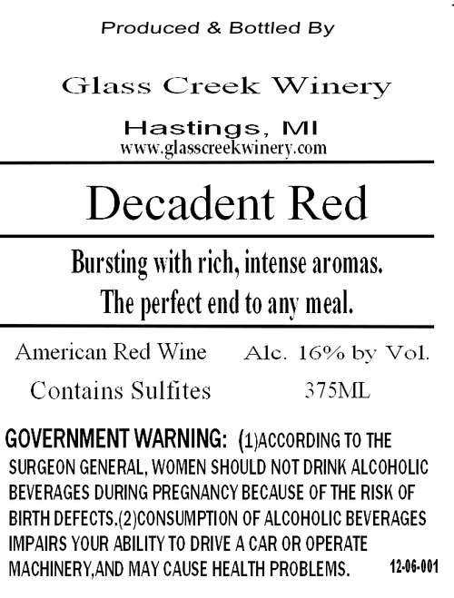 Glass Creek Winery
